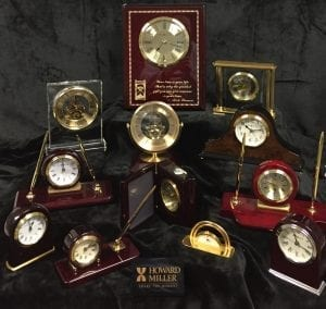 Customized clocks for Corporate and Employee Recognition