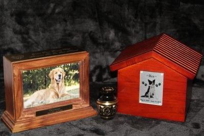 custom dog urns and keepsakes