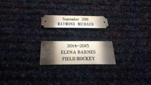 custom face plate engravings